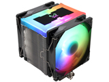 オリジナルクーラー「無限伍」のアドレッサブルRGB対応モデル、デュアルファン仕様、光るトップカバー搭載 SCMG-5102AR