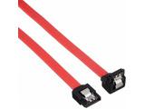 SATA2(3Gbps対応)ケーブル I - L ロック付 50cm SATA-ILCA50 レッド