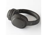 ブルートゥースヘッドホン  ダークグレイ AG-WHP01KDG [マイク対応 /Bluetooth /ノイズキャンセリング対応]