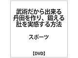武術だから出来る丹田を作り、鍛える 肚を実感する方法 DVD