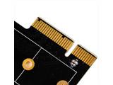 インターフェースカード PCI-Express x4[M.2 SSD] ロープロファイル対応 SST-ECM25