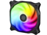 ケースファン[120mm / 2200RPM] Air Blazer 120R SST-AB120R-ARGB 半透明ファンブレード、ブラックフレーム