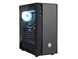PCケース SST-FAB1B-RGB ブラック