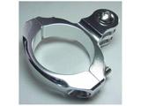 31.8mmハンドルバー・クランプマウント -Standard シルバー GB0106