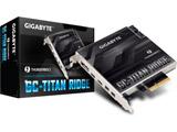 インターフェースボード Thunderbolt3 Type-Cx2 / DisplayPort / Mini DisplayPortx2[PCI Express]  GC-TITAN RIDGE