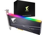 AORUS RGB AIC NVMe SSD 1TB  GP-ASACNE2100TTTDR (PCl Express カード、PCI-Express 3.0 x4, NVMe 1.3)