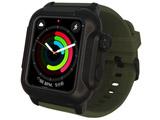 YHDIPCW4L-MG Apple Watch Series 4 (44mm) 防塵防水ケース ミリタリー