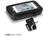 スマートフォン対応[幅 80mm] スマホ&モバイルバッテリーホルダー 自転車でGO ブラック JFGOK