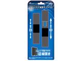 【在庫限り】 PS4用 コンパクト縦置きスタンド スリムブラック (CUH-2000シリーズ/CUH-7000シリーズ用) [ANS-PF035BK]