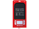 Switch用 セミハードケース スリム ブラック [Switch] [ANS-SW007BK]
