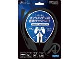 PS4/PS3用ヘッドセットSIMPLE ブラック [ANS-PF057BK] [PS4/PS3]