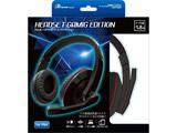 PS4/PS3用ヘッドセット ゲーミングエディション ブラック [ANS-PF058BK] [PS4/PS3]