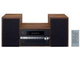 【ワイドFM対応】 Bluetooth対応 CDミニコンポーネントシステム(ブラック) X-CM56B
