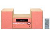【在庫限り】 【ワイドFM対応】 Bluetooth対応 CDミニコンポーネントシステム(レッド) X-CM56R