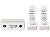 【子機2台】デジタルコードレス留守番電話機 TF-FD35T-TY (マロン)