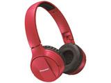 【数量限定品】 ブルートゥースヘッドホン  レッド SE-MJ553BT-R [リモコン・マイク対応 /Bluetooth]