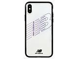 New Balance [TPU+PC ケース/ブラック] iPhoneXS/X md-74260-2