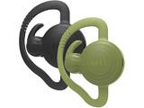 ワイヤレスヘッドセット 片耳イヤホンタイプ[Bluetooth]エクストリームコミュニケーションギア BONX Grip 2個セット BX2-MTBKGN1 ブラックグリーンセット