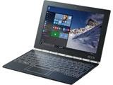 【在庫限り】 10.1型ノートPC [Win10 Home・Atom x5-Z8550] YOGA BOOK with Windows カーボンブラック ZA150086JP