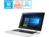 【在庫限り】 ノートパソコン 80U20011JP チョークホワイト [11.6型 /intel Celeron /SSD:128GB /メモリ:4GB /2016年10月モデル]
