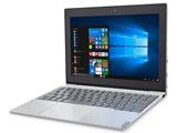 モバイルノートPC ideapad MIIX 320 80XF0007JP プラチナシルバー [Win10 Home・Atom x5・10.1インチ・Office付き・eMMC 64GB]