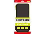 【ビックカメラグループオリジナル】 Switch用 カーボン調EVAポーチ Black×Green [BKS-NSEVMD]