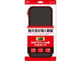 Switch Lite用 カーボン調EVAポーチ BLACK×RED BKS-NSMERD 【Switch Lite】