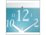 【在庫限り】 掛け時計 「ミスティナンバークロック」 V-057BU
