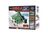 USB3.0内部ピン&外部ポート 増設PCI Expressx1ボード OverFenderRV SD-PEU3V-2E2IL3
