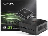 【在庫限り】 デスクトップPC LIVA Z2 LIVAZ2-4/32-W10(N4100) ブラック [Celeron・eMMC 32GB・メモリ 4GB]