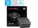 デスクトップPC LIVA Q2 IOT LIVAQ2-4/32-W10(N4100) [Celeron・eMMC 32GB・メモリ 4GB]