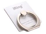 〔フィンガーホルダー〕 iRing アイリング (パールホワイト) UMS-IR01PW