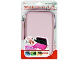 3DS LL用 セミハードポーチ3L ピンク [ANS-3D026PK]