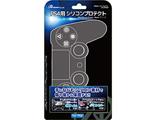 PS4用 コントローラ シリコンプロテクト ブラック [ANS-PF003]