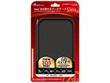 【在庫限り】 new 3DS用 セミハードケースSlim(ブラック)【New3DS】 [ANS-3D058BK]