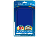 new 3DS用 セミハードケースSlim(ブルー)【New3DS】 [ANS-3D058BL]