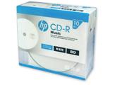 音楽用 CD-R 1-32倍速 80分 10枚【インクジェットプリンタ対応】 CDRA80CHPW10A