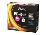 録画用 BD-R 1-4倍速 25GB 10枚【インクジェットプリンタ対応】 BR130RAPW10A