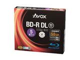 【在庫限り】 録画用 BD-R DL 1-6倍速 50GB 5枚【インクジェットプリンタ対応】 BR260RAPW5A