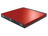 LDR-PUE8U3VRD(レッド) USB3.0用 ポータブルDVDドライブ [Windows(ソフト付)・Mac対応]
