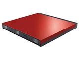 LDR-PUE8U3LRD(レッド) USB3.0用 ポータブルDVDドライブ [Windows(書き込みソフト付)・Mac対応]