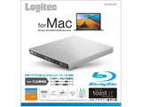 LBD-PVB6UCMSV Blu-rayディスクドライブ スリムタイプ [USB3.0 Type-Cモデル/for Mac/シルバー] Mac対応ソフト付