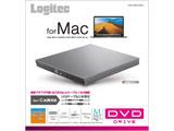 LDR-PVB8U3MGY DVDディスクドライブ M-DISC対応 [USB3.0 TypeCケーブル付/グレー]