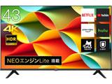 液晶テレビ   43A6G [43V型 /4K対応 /BS・CS 4Kチューナー内蔵 /YouTube対応]