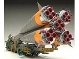 1/150 ソユーズロケット+搬送列車 プラモデル