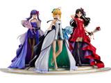 【2021/06月発売予定】 Fate/stay night セイバー 遠坂凛 間桐桜 〜15th Celebration Dress Ver.〜  Premium Box  1/7 塗装済み完成品フィギュア