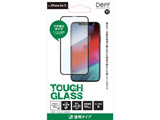 iPhone XS 5.8インチ用ガラスフィルム TOUGH GLASS/透明/フルカバータイプ/アルミノシリケートガラス BKS-IP18SG3FBK