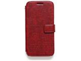 Galaxy S6 SC-05G用 Lettering Diary ワイン Zenus Z5976GS6