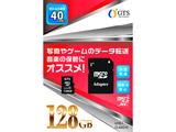 microSDXCカード GTS GSMS128PAD [128GB /Class10]