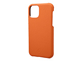 Shrunken-calf Leather Shell  for iPhone 11 Pro 5.8インチ ORG